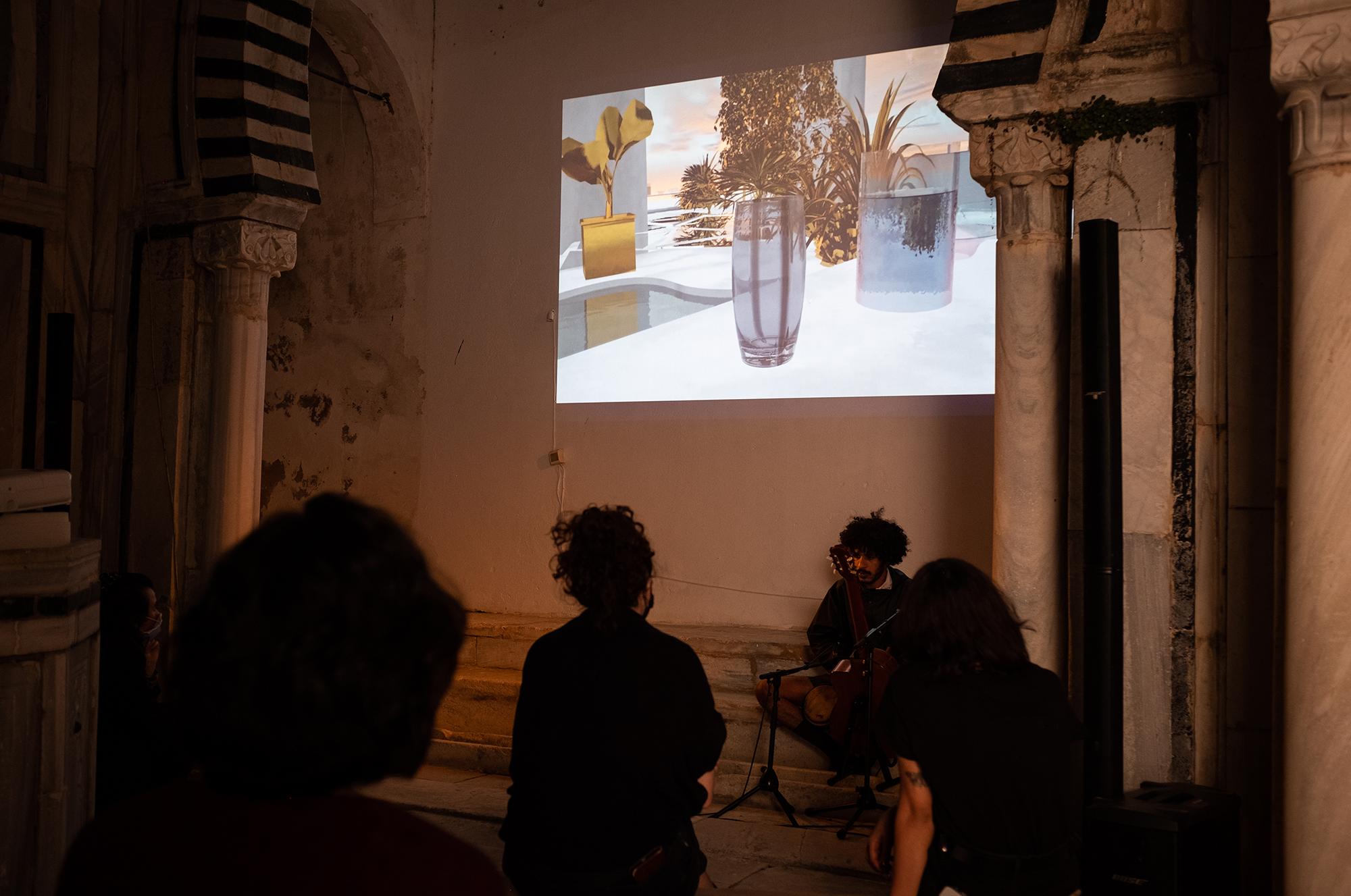 "Conférence-Performance ""The Dido Problem"" d'Areej Huniti et Eliza Goldox, 3 avril 2021"