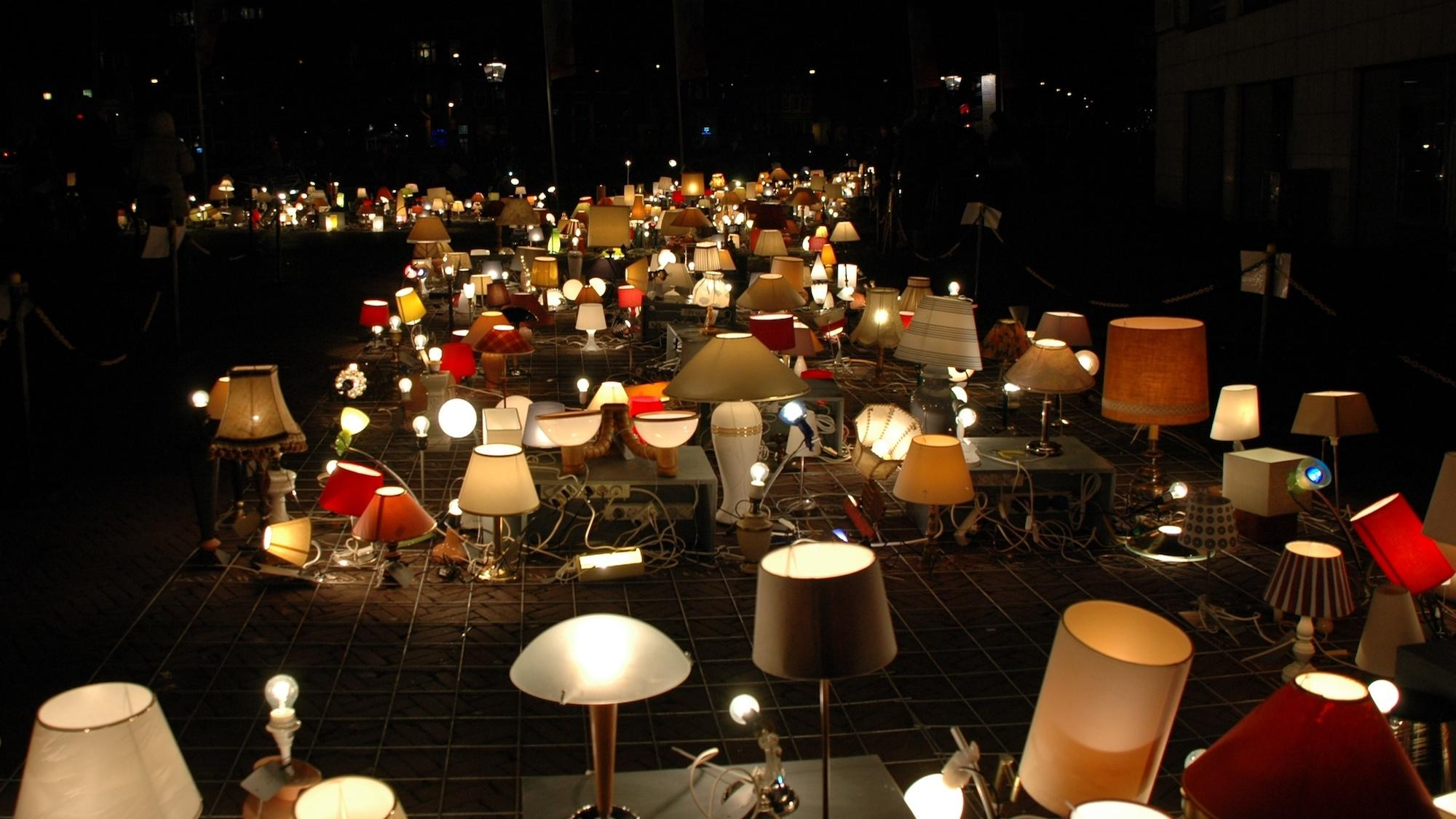 We light Amsterdam