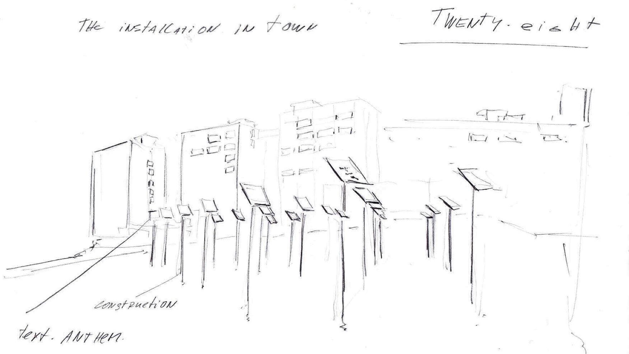 Twenty-Eight concept drawing